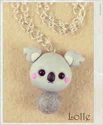 Clay Flurry Koala by LolleBijoux