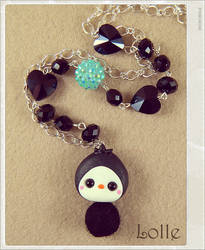 Clay Flurry Penguin by LolleBijoux