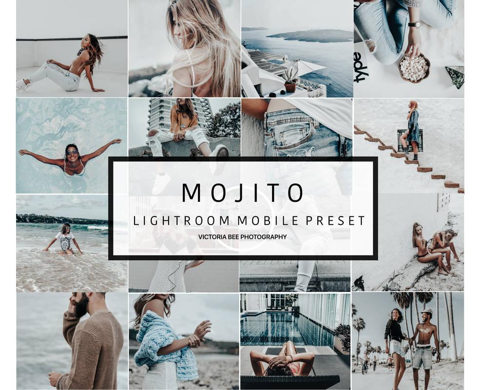 Mobile Lightroom Preset MOJITO Inspired Blogger Mi by