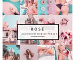 Mobile Lightroom Preset ROSE Instagram Pink
