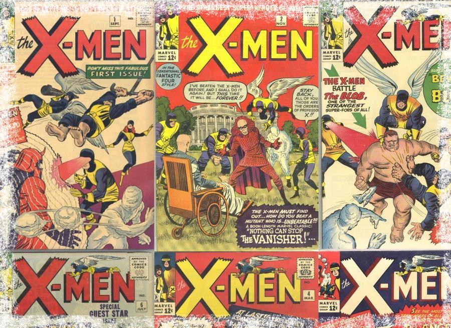 X Men Comic Book Wallpaper By DRich119