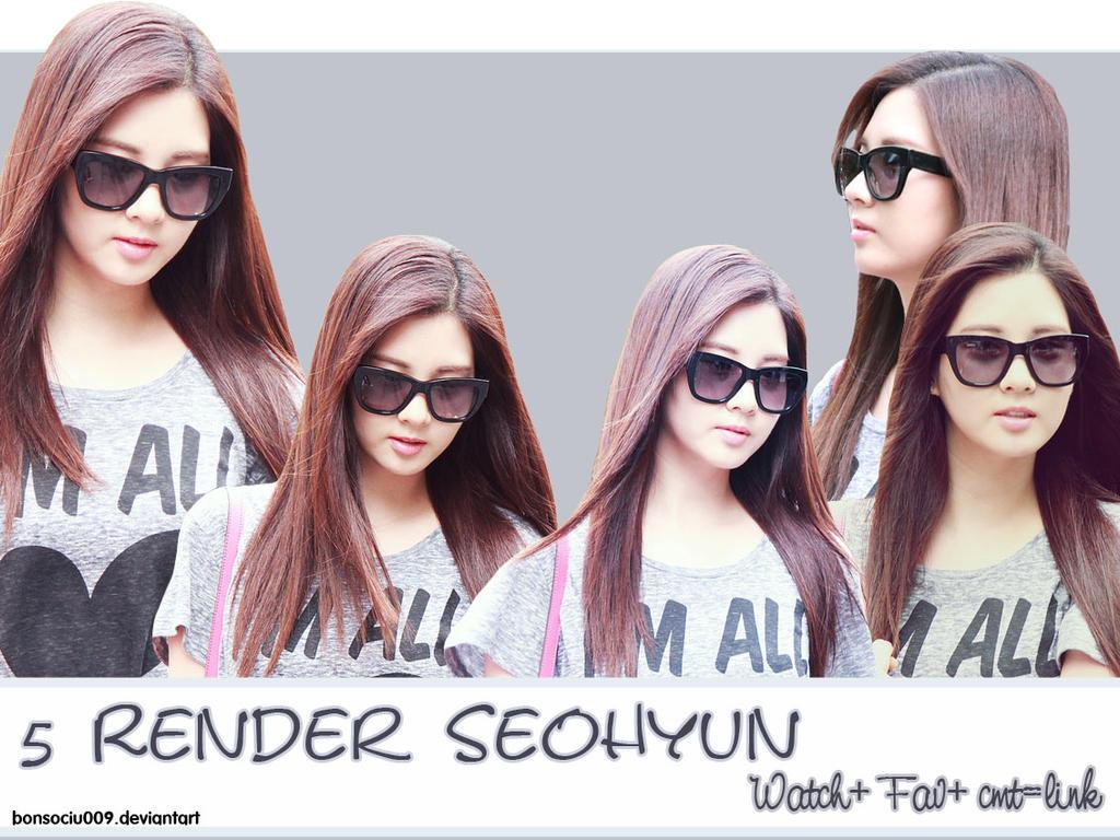 5 Render Seohyun SNSD #1 by bonsociu009