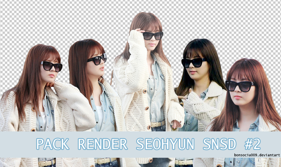 Pack Render Seohyun SNSD #2 by bonsociu009