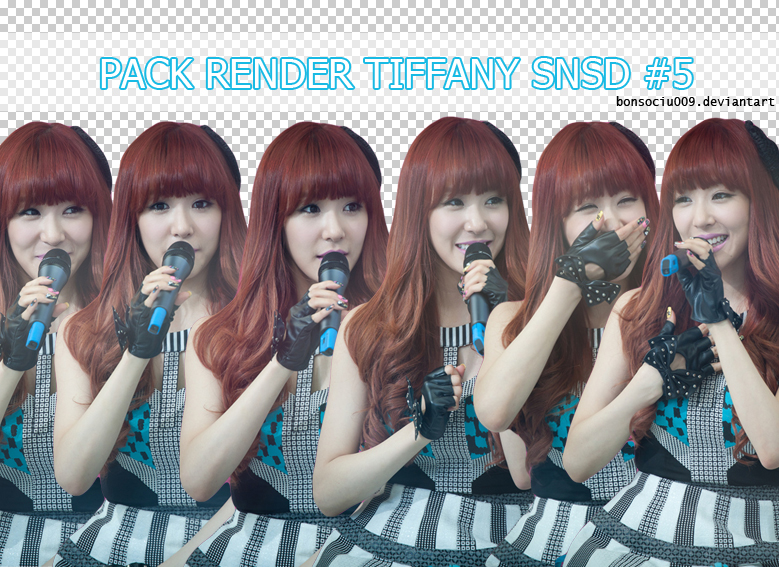 [PACK RENDER] TIFFANY SNSD #5 by bonsociu009