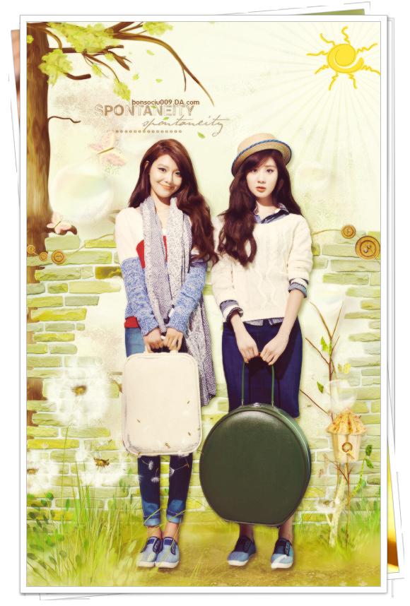 SOOYOUNG AND SEOHYUN - BEAUTIFUL GRADENS! by bonsociu009