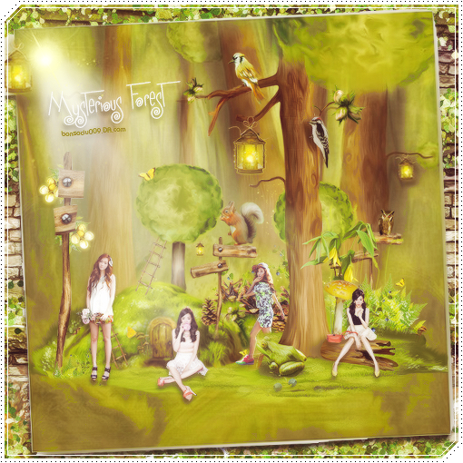 JESSICA AND TIFFANY - MYSTERIOUS FOREST ..... by bonsociu009