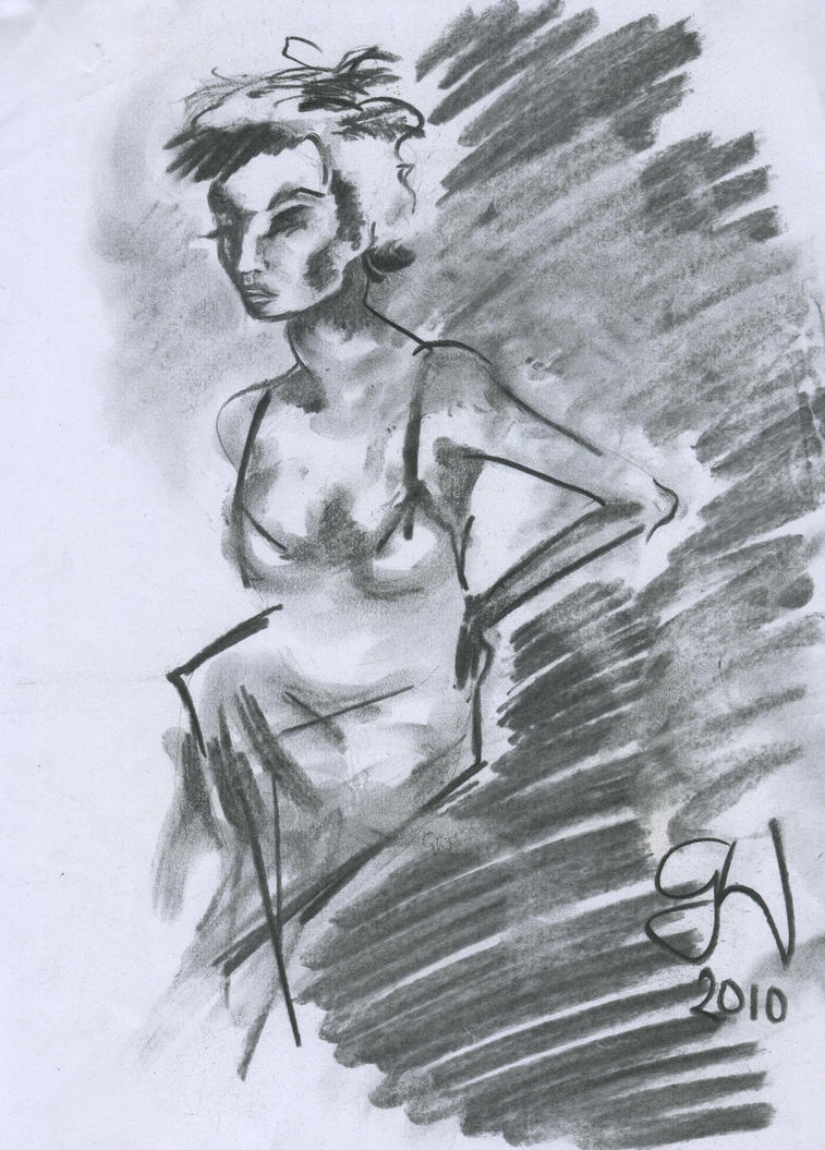 Charcoal 1 by nenetophni