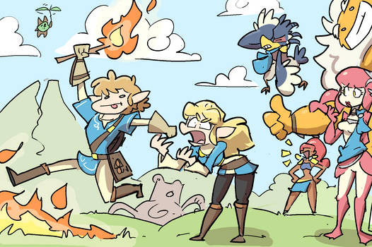 Switch Anniversary: Breath of the Wat