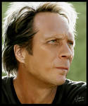 William Fichtner Painting
