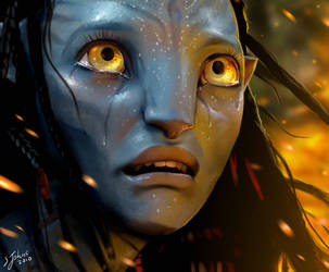 Neytiri's Tears by Sheridan-J