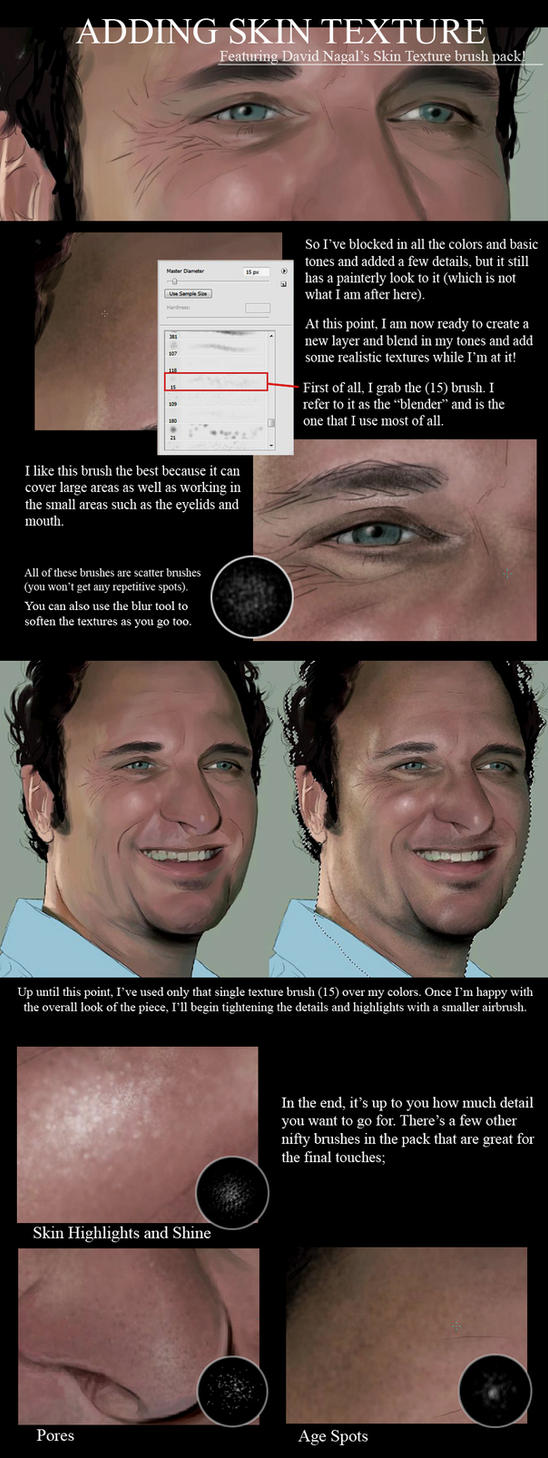 Adding Skin Texture by Sheridan-J