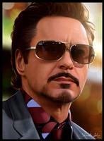 Robert Downey Jr ver.2 by Sheridan-J