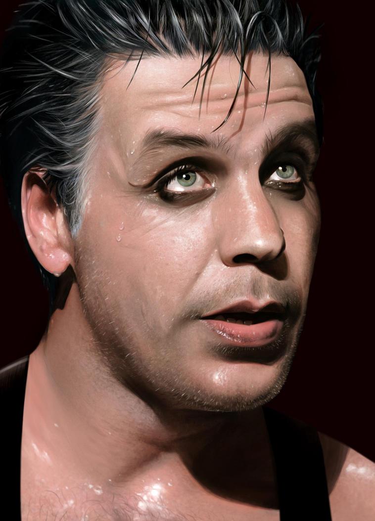 Till Lindemann - RAMMSTEIN by Sheridan-J