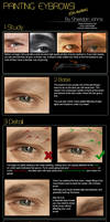 Painting Realistic Eyebrows!