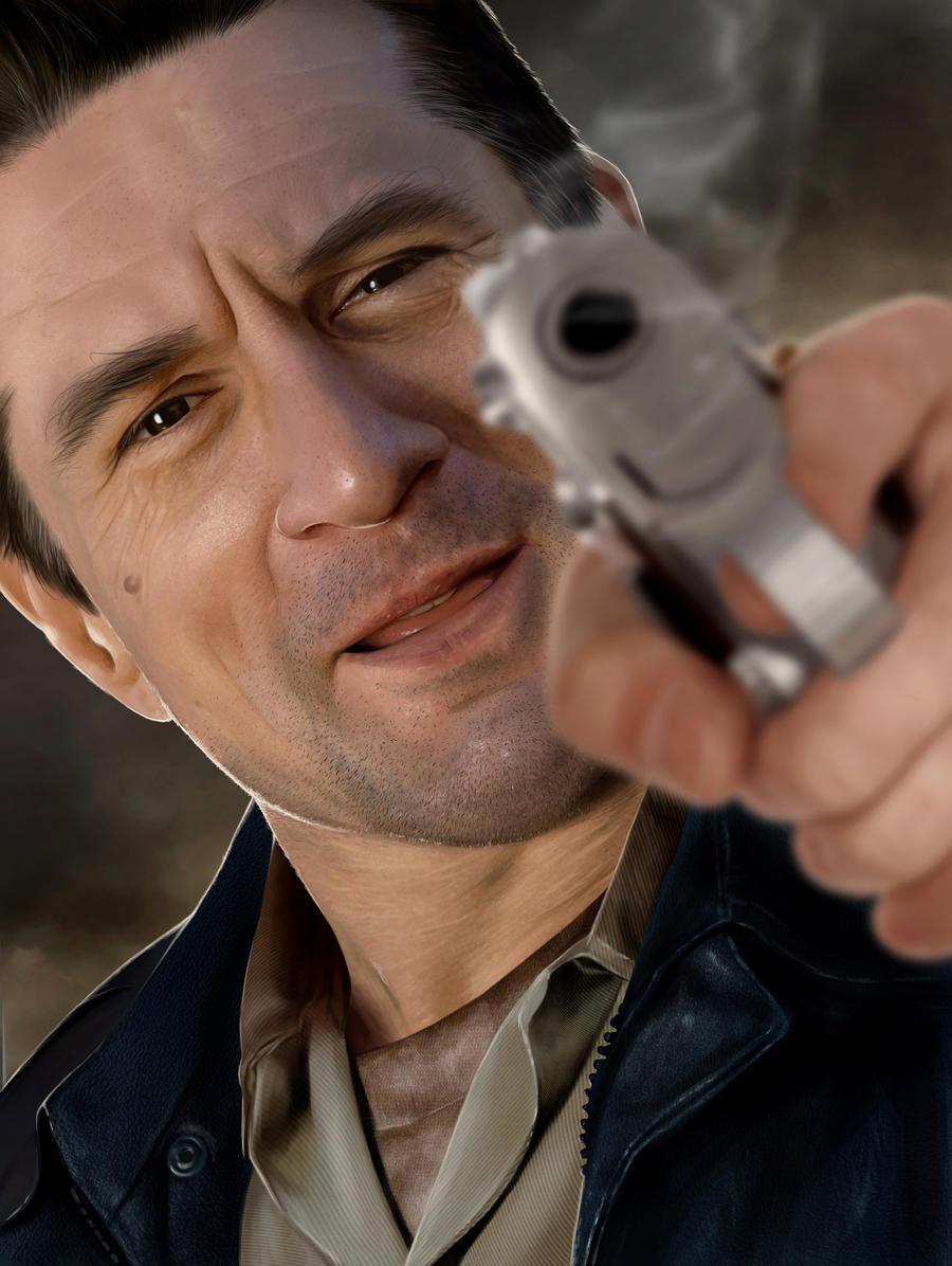Robert De Niro by Sheridan-J