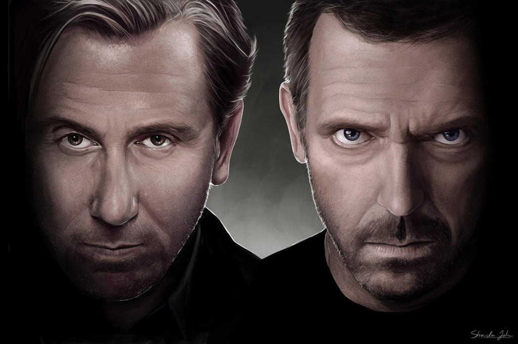 Dr Lightman v Dr House by Sheridan-J