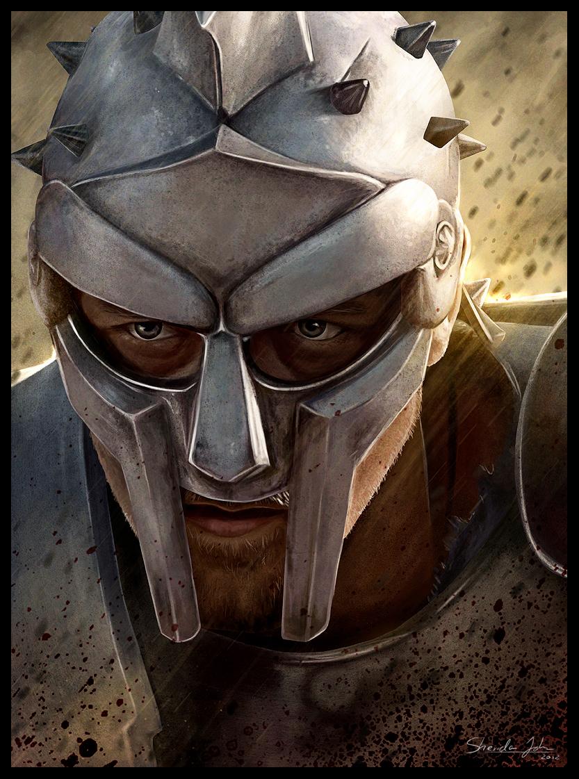 Maximus Decimus Meridius by Sheridan-J