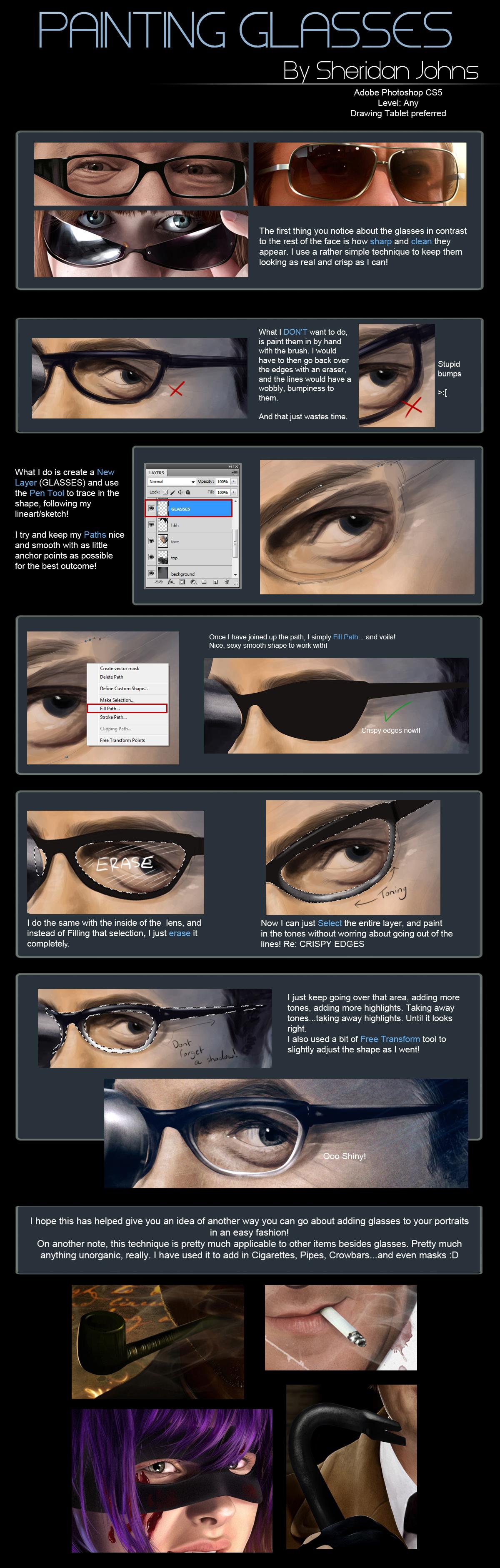 Painting Glasses - Quick Tutorial