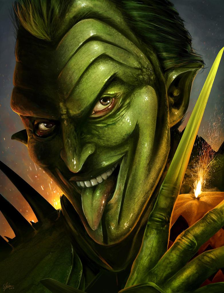 The Green Goblin by Sheridan-J