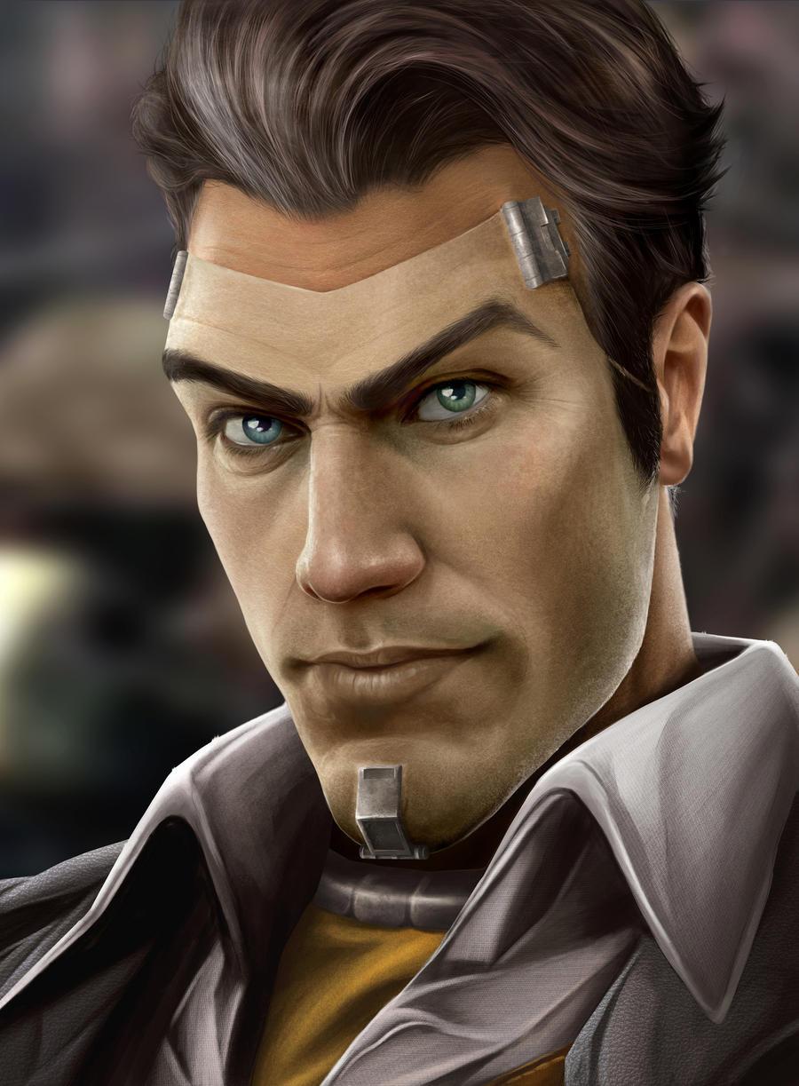 Handsome Jack By Sheridan J On Deviantart