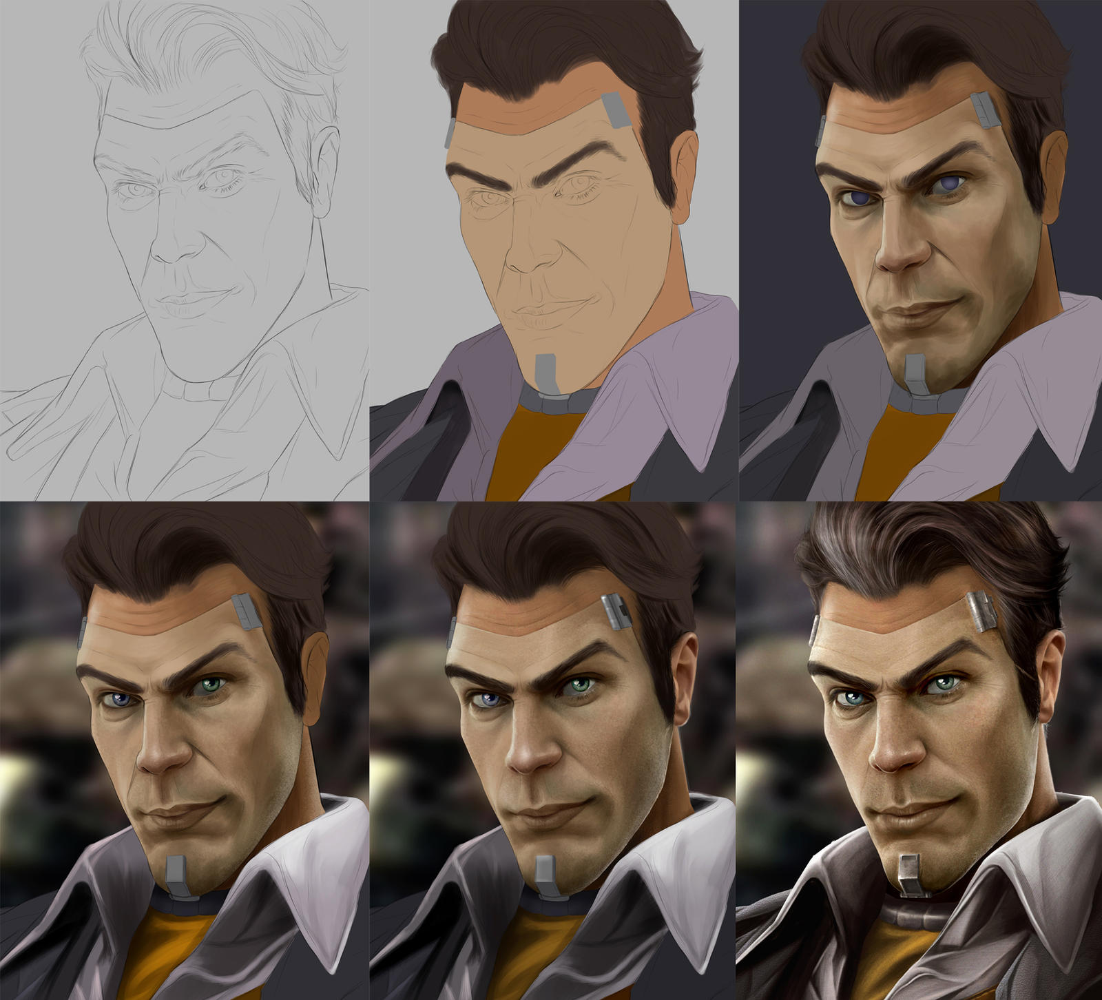 HANDSOME JACK WIPS by Sheridan-J