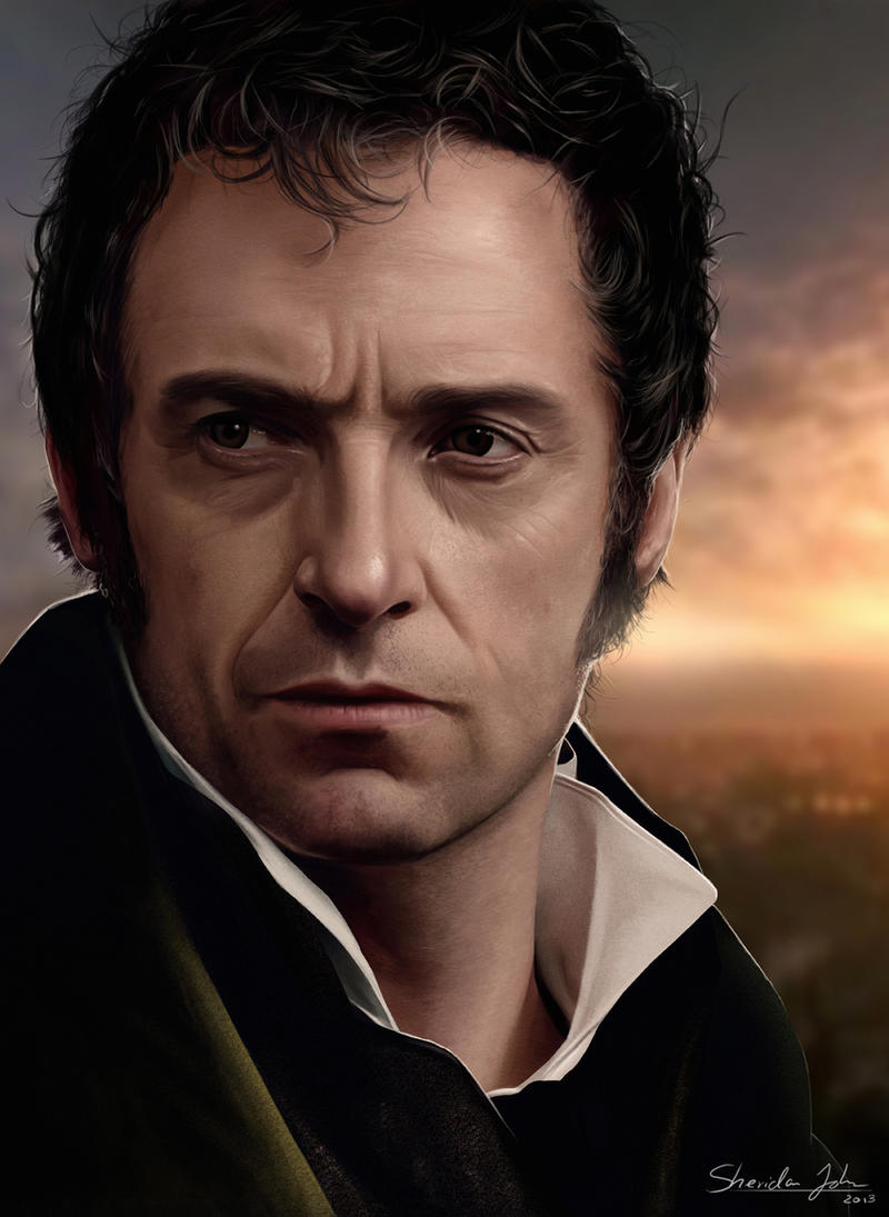 Les Miserables - #3 VALJEAN by Sheridan-J