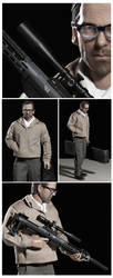 Kiefer Sutherland PHONE BOOTH 12'' Figure by Sheridan-J