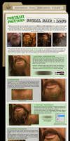 Painting Facial Hair- Long
