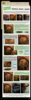Painting Facial Hair- Long