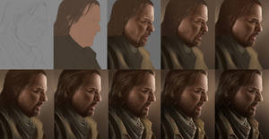 Portrait Steps - The Last Of Us- BILL