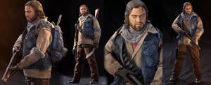 The Last Of Us ''BILL'' Custom Figure