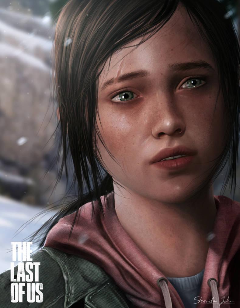 The Last of Us - ELLIE by Sheridan-J on DeviantArt