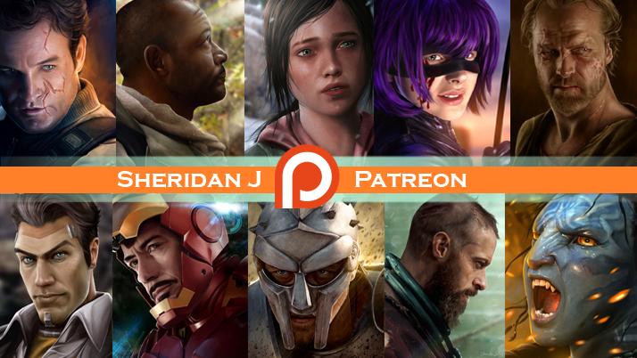 Sheridan J is on PATREON! by Sheridan-J