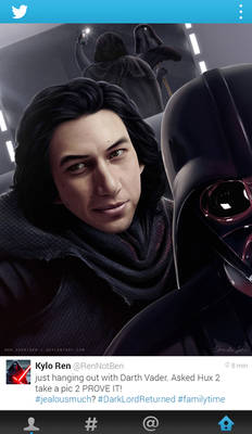 Darth Vader Has Returned