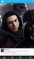 Darth Vader Has Returned by Sheridan-J