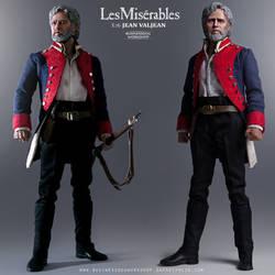 1/6 Les Miserables JEAN VALJEAN Custom Figure
