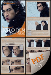 PREMIUM - Digital Painting Walkthrough -KYLO REN-
