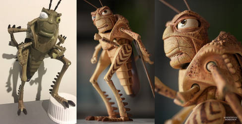A Bug's Life HOPPER Figure [REPAINT]