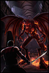 Novel Cover Art - Drake Hunter