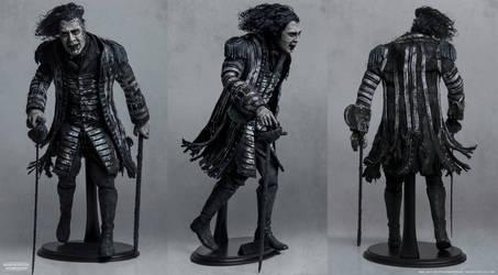 1/6 Scale Custom Figure-  CAPTAIN SALAZAR
