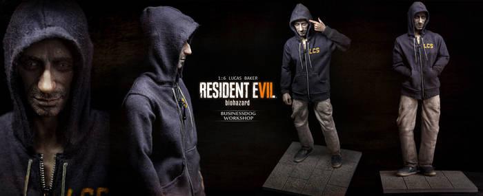 1/6 Custom Figure LUCAS BAKER - Resident Evil 7