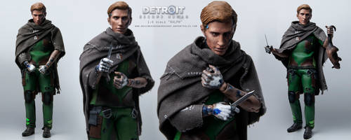 1/6 Scale Detroit: Become Human Figure - RALPH by Sheridan-J
