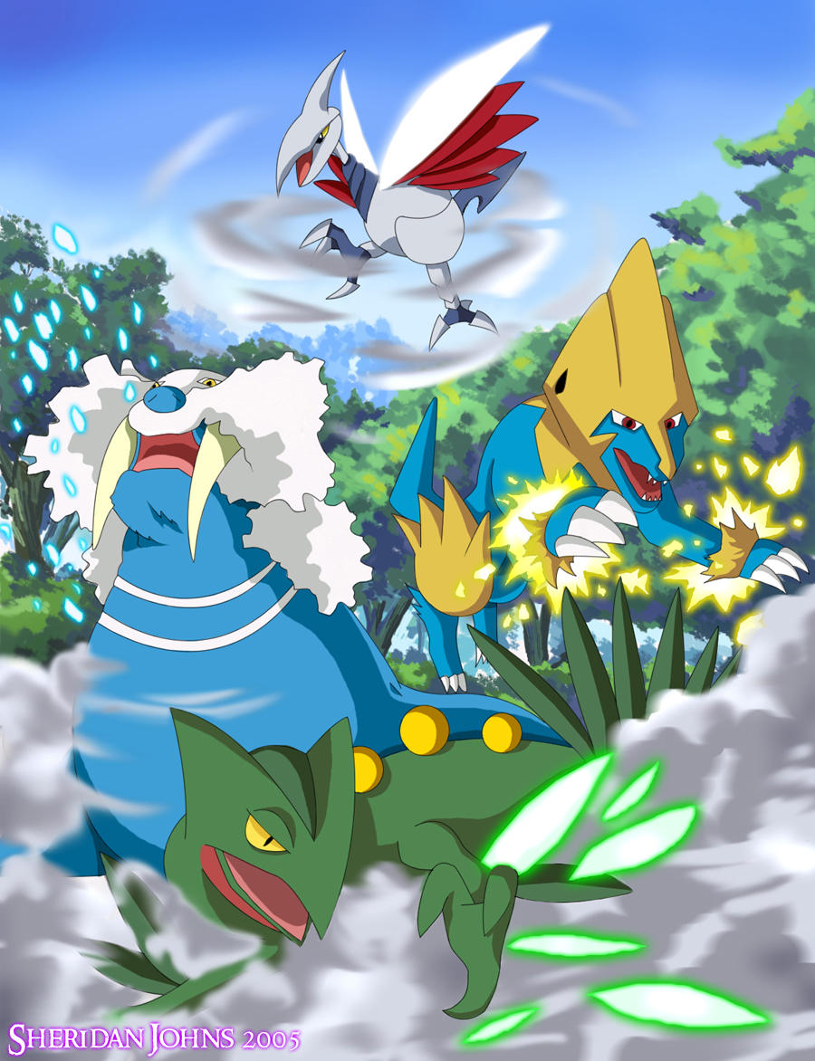 Pokemon Team by Sheridan-J