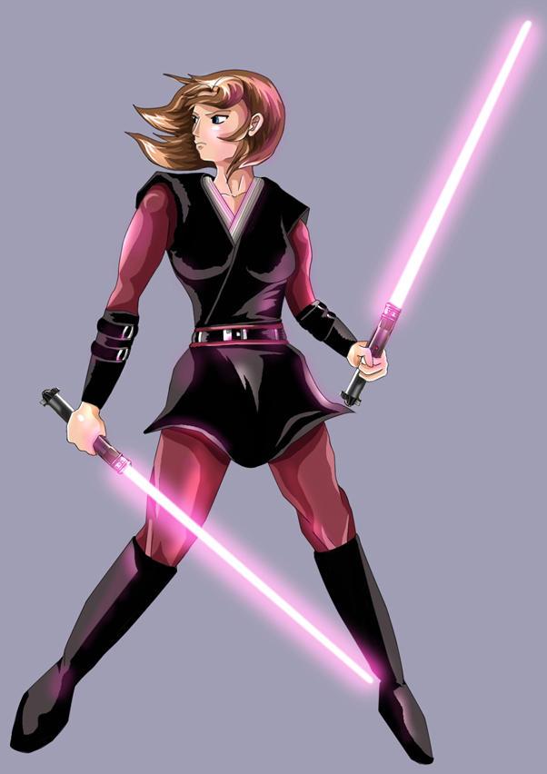 Jedi mind chick