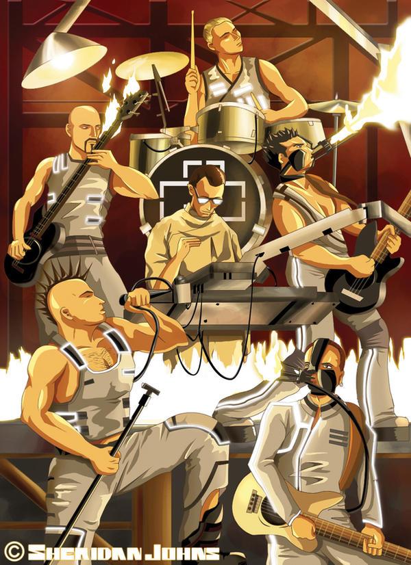 Rammstein 2002 by Sheridan-J