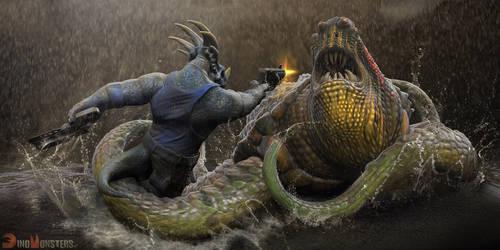 DinoMonsters, Stiks fight
