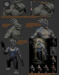 DinoMonsters tutorial by damir-g-martin