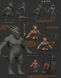 DinoMonsters tutorial 2 by damir-g-martin