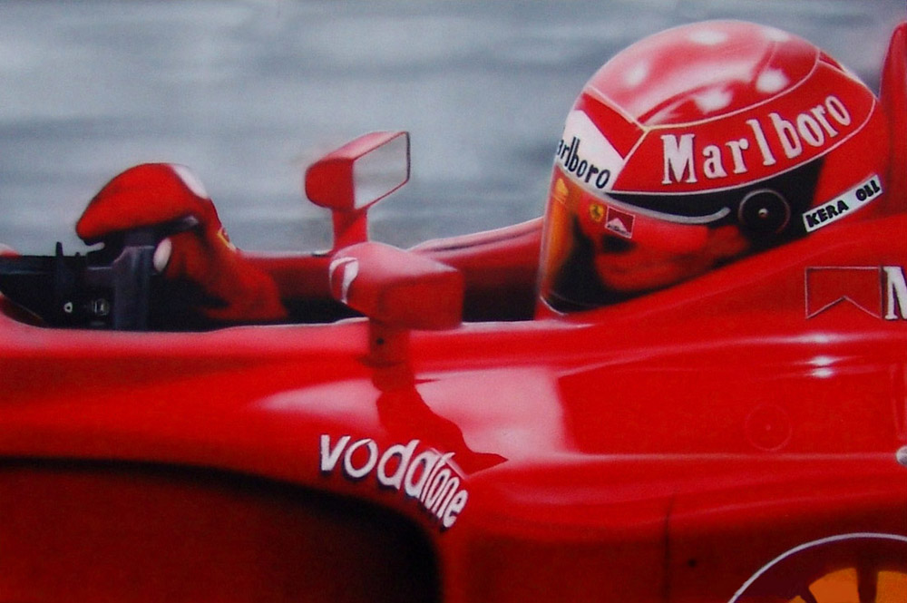 Michael Schumacher by damir-g-martin