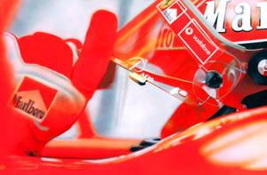 Michael Schumacher ready to go